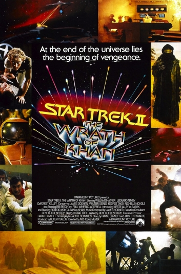 Start Trek II: The Wrath of Khan the movie poster
