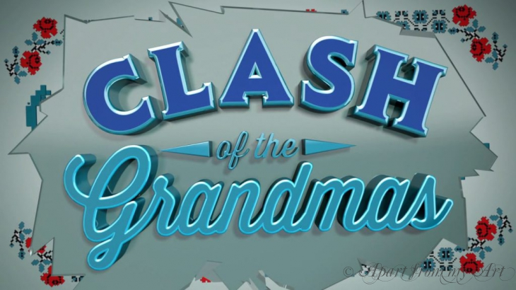 Television introduction for Clash of the Grandmas Cooking show for the FoodNetwork