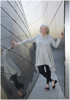 Sandra Sallin at the Walt Disney Concert Hall